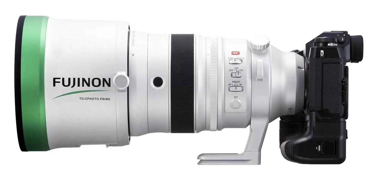 Fujifilm announces Fujinon XF200mmF2 R LM OIS WR Telephoto Lens and XF1.4X TC F2 WR Teleconverter Kit