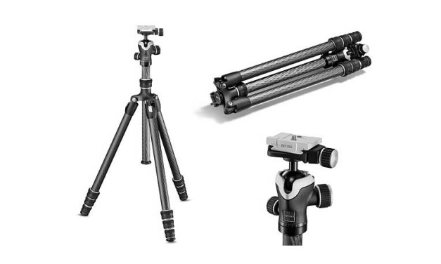 Gitzo, Sony, launch new tripod, L bracket for A series cameras