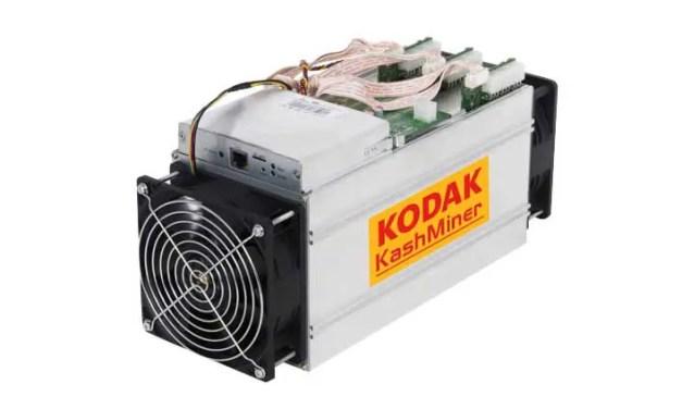 Kodak KashMiner cryptocurrency blocked by SEC