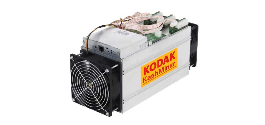 Kodak KashMiner cryptocurrency blocked by SEC