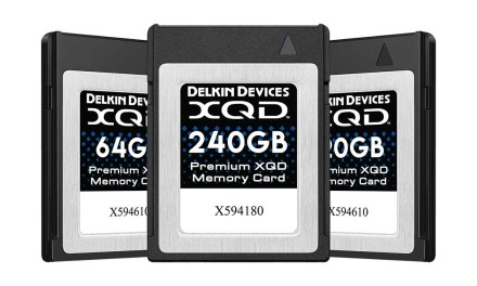Delkin launches new premium line of XQD cards