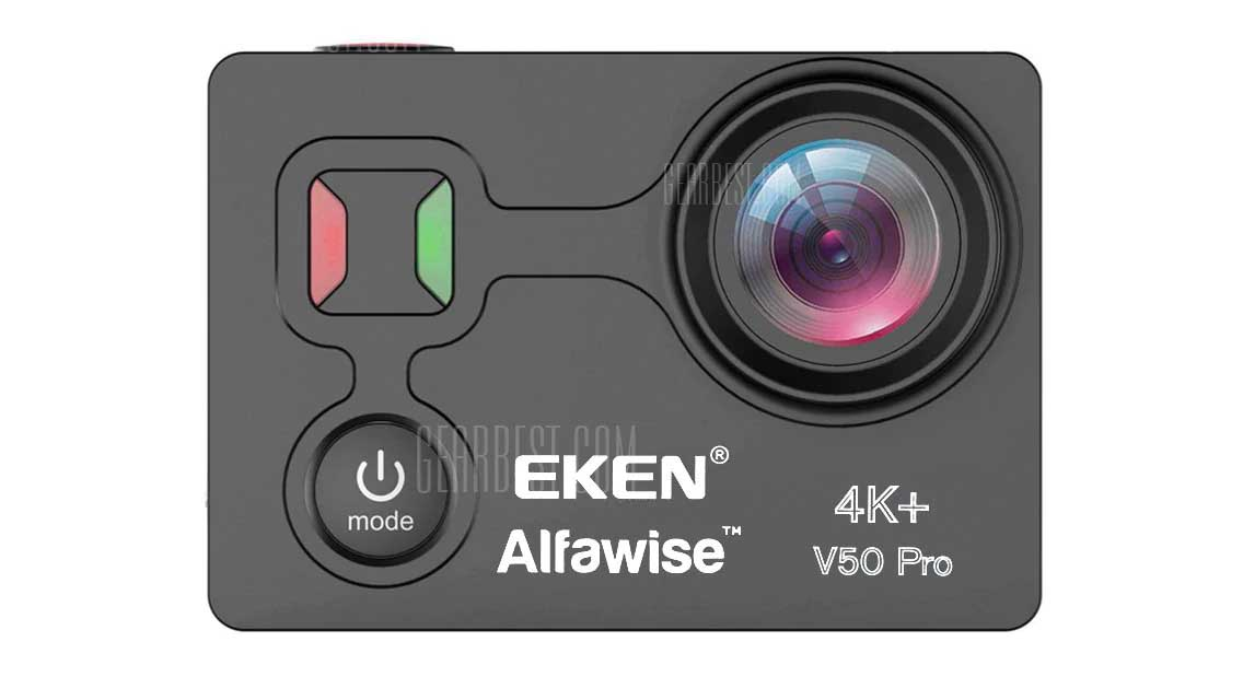 EKEN Alfawise V50 Pro 4K review