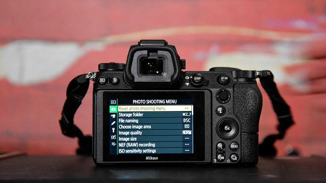 Nikon Z7 vs D850: viewfinder