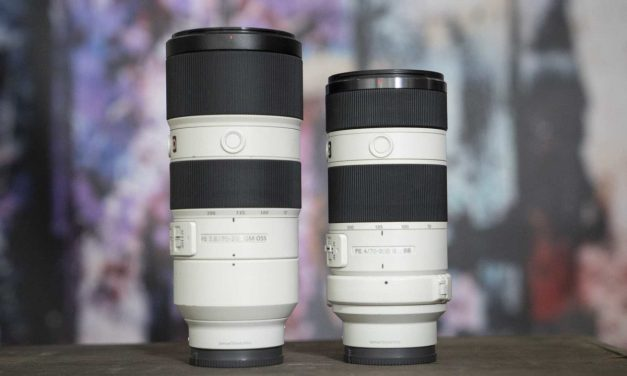 Sony FE 70-200mm f/4 vs f2.8