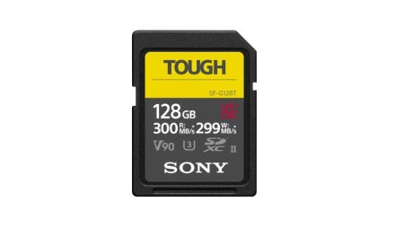 Sony unveils new TOUGH line of SD cards