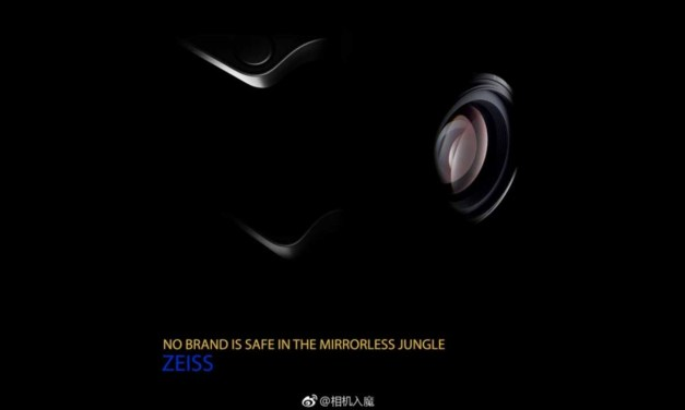Zeiss (possibly) teases new mirrorless camera