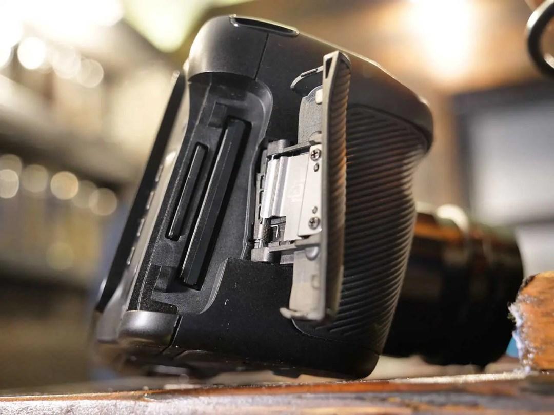 Blackmagic Pocket Cinema Camera 4K review: dual card slots