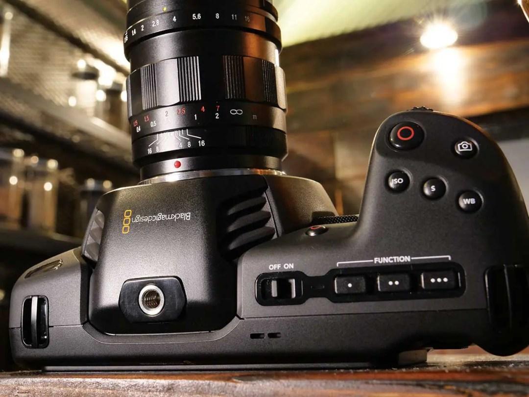 Blackmagic Pocket Cinema Camera 4K review: build quality