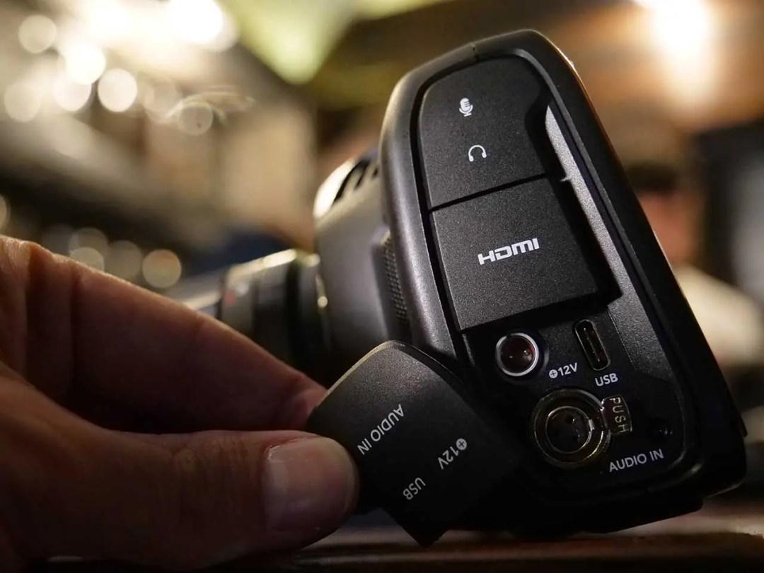Blackmagic Pocket Cinema Camera 4K review: audio