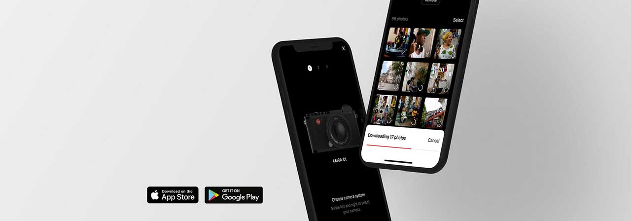 Leica FOTOS app allows for image transfers on the go