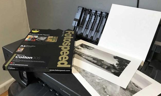 Fotospeed Platinum Cotton 305 Review