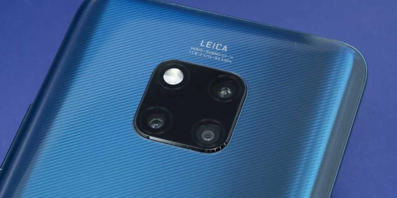Huawei Mate20 Pro camera better than P20 Pro's