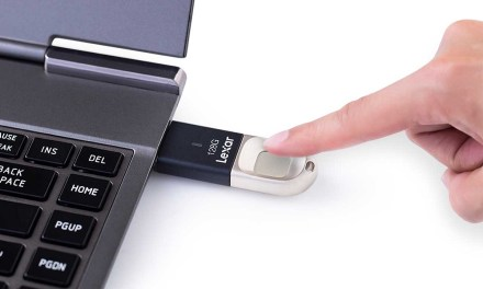 Lexar Announces New JumpDrive Fingerprint F35