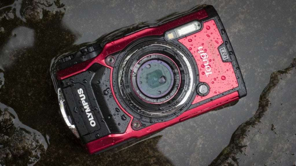 Best compact cameras: Olympus Tough TG-5