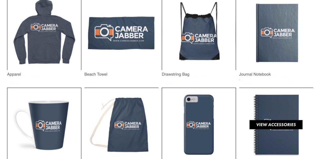 Camera Jabber merchandise now available