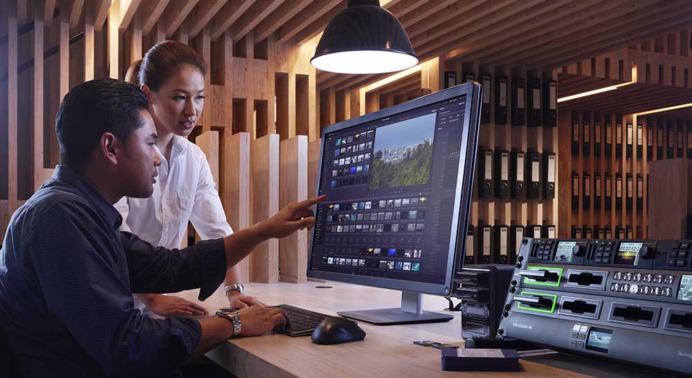 Blackmagic unveils DaVinci Resolve 15.2, Camera 6.0, Audio Monitor 12G