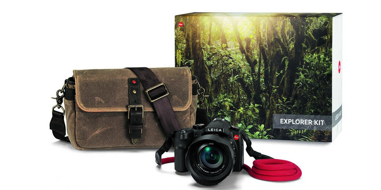 Leica launches V-Lux Explorer Kit