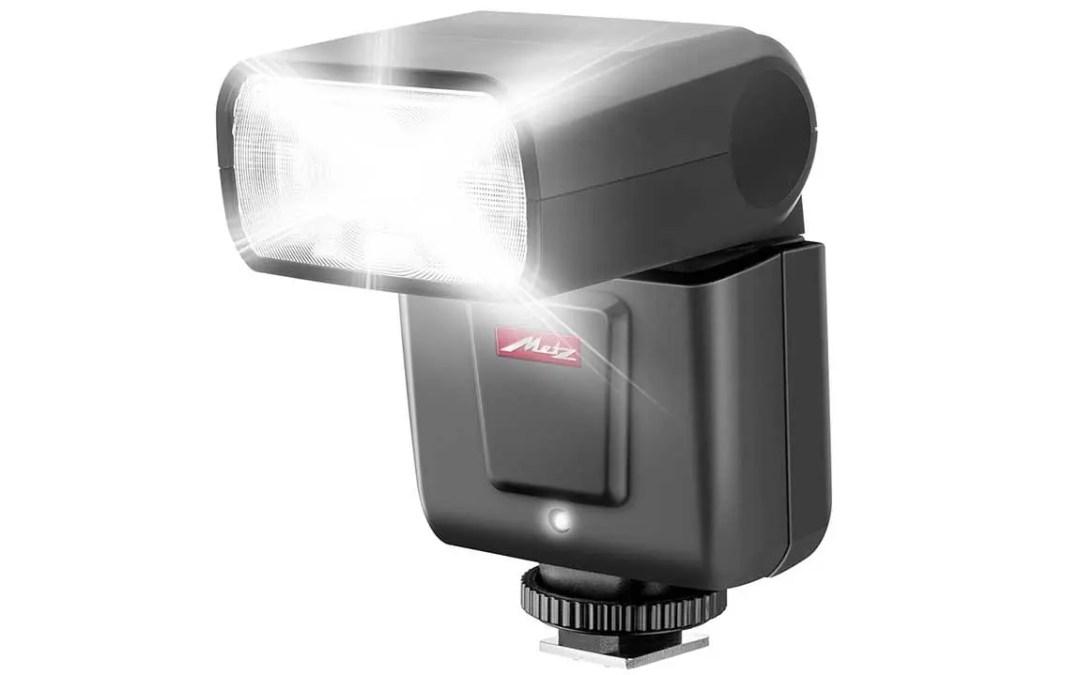 Compact Metz Mecablitz M360 flash revealed