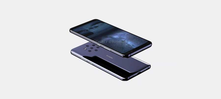 First images of Nokia's new 5 camera smartphone