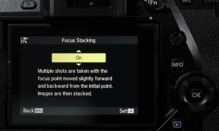 How do you use the Olympus Focus Stacking mode?