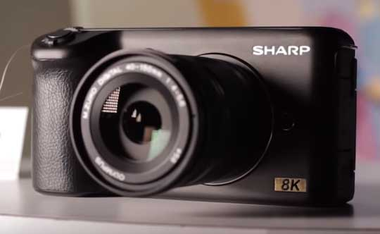 Sharp 8K camera price, release date reported in Japan