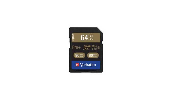 Verbatim Pro Plus 600X SDXC UHS-1 V30