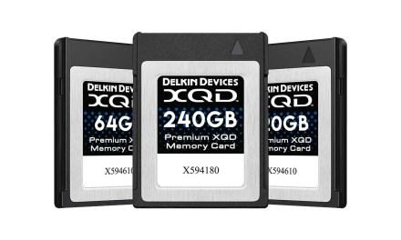 Delkin XQD Memory Cards & XQD Adapter released