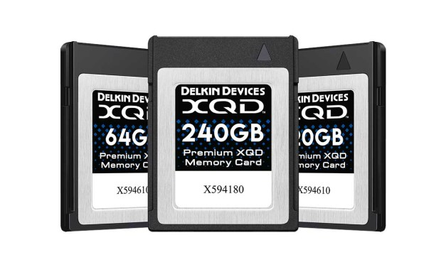 Delkin XQD Memory Cards & XQD Adapter released