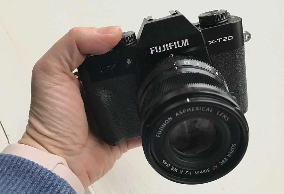 Fujifilm X-T30 vs X-T20