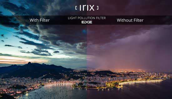 Irix launches Edge Light Pollution Filter