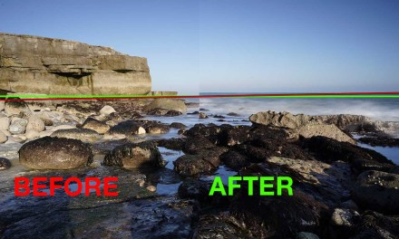 Five minute Photoshop: Levelling Horizons