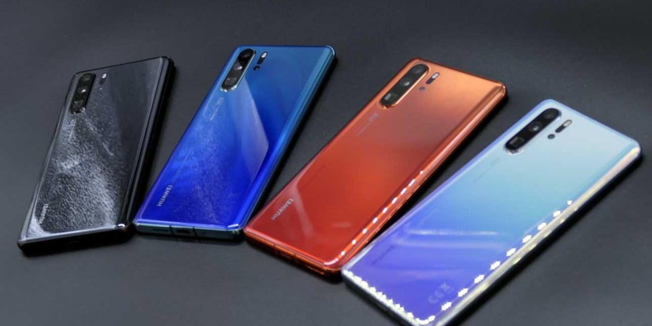 How to set up the Huawei P30 Pro for the first time