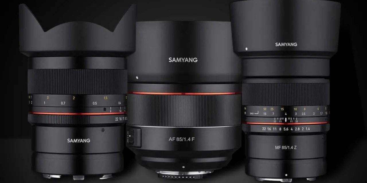 SAMYANG Releases 3 New Lenses for Nikon