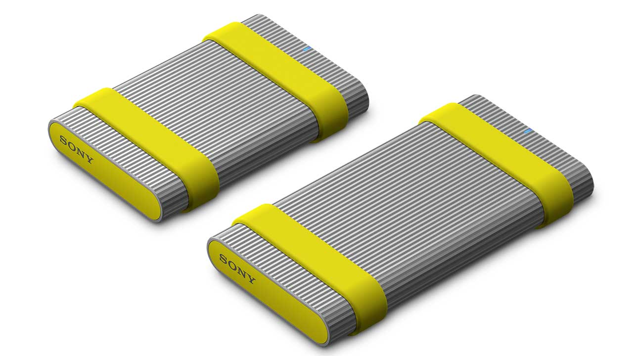 Sony Announces New Ultra-tough, High-speed External SSD Drives