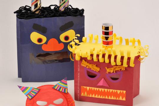 Kids' Day masks