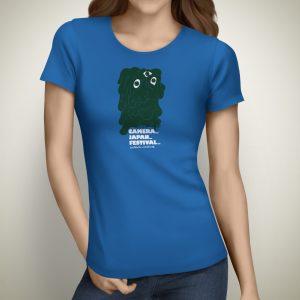 CameraJapan 2018 Womens T-shirt Blue