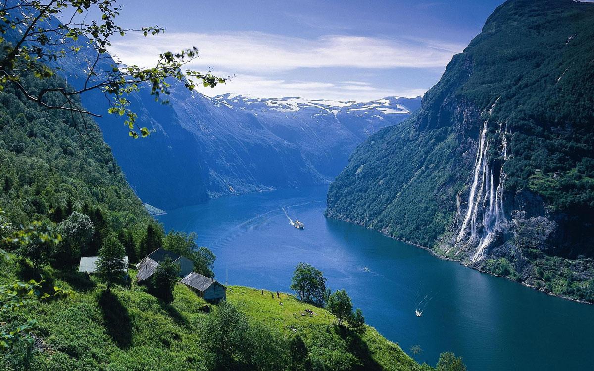 Мардалсфоссен, Норвегия
