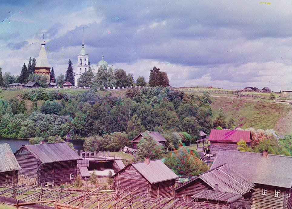 Старинные цветные фотографии прокудина горского