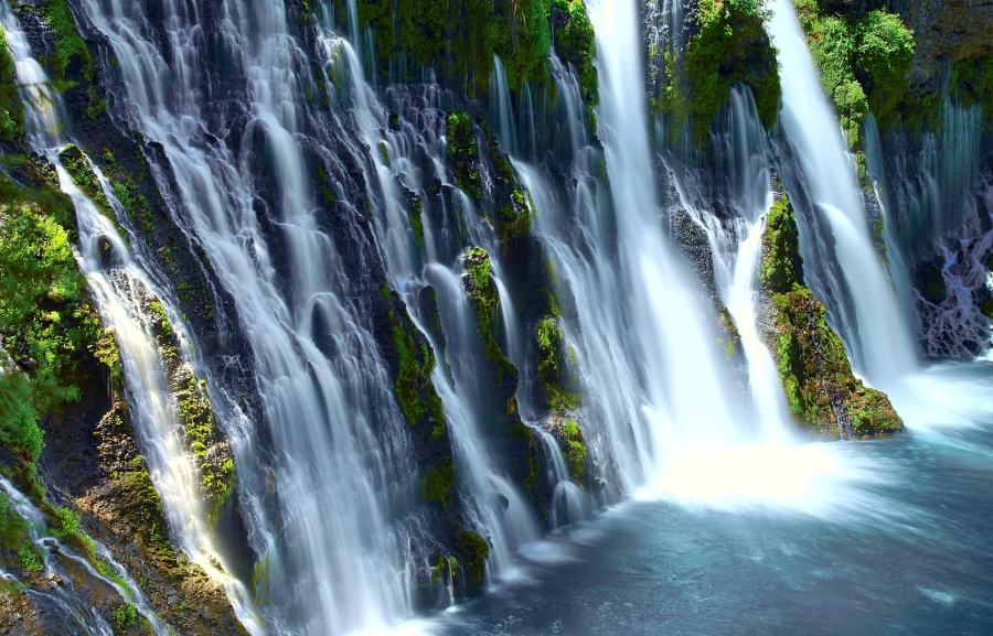 Водопады Барни (Burney Falls)