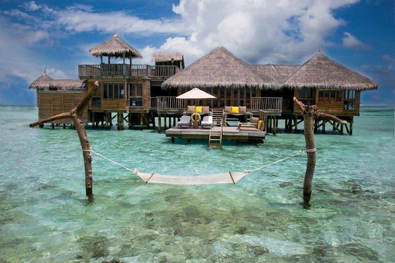 Гили Ланкафуши на Мальдивах - лучший отель 2015 года по версии TripAdvisor (14)