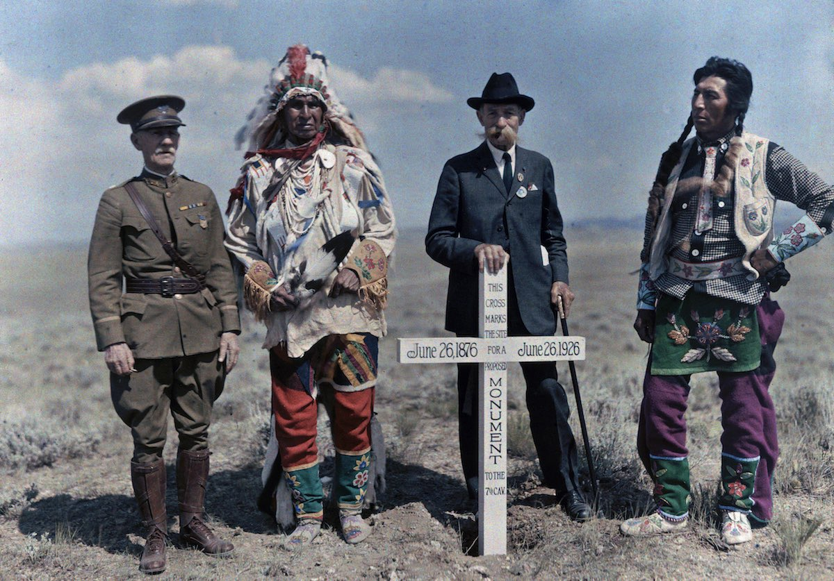 США в начале ХХ века - 50 цветных автохромных фотографий - 13