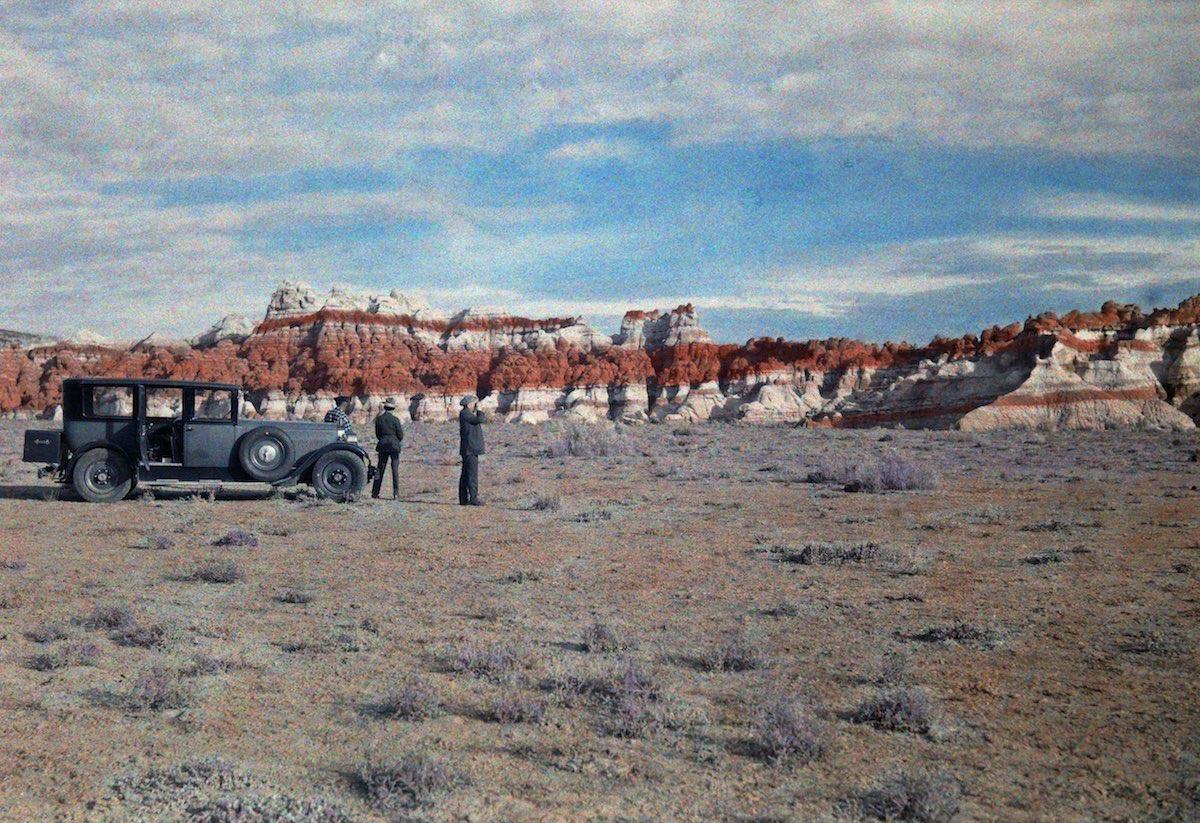 США в начале ХХ века - 50 цветных автохромных фотографий - 19