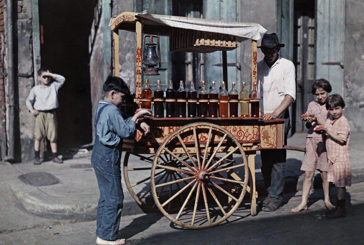 США в начале ХХ века - 50 цветных автохромных фотографий - 28