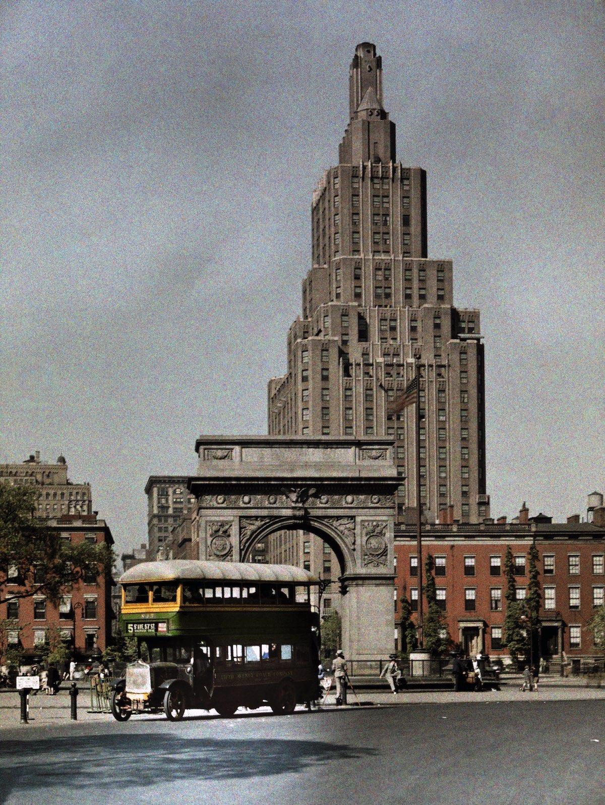 США в начале ХХ века - 50 цветных автохромных фотографий - 33