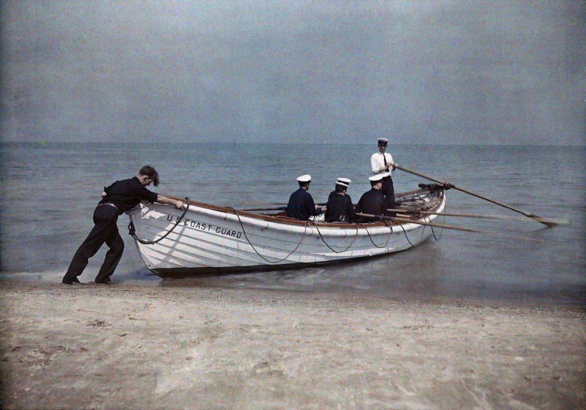 США в начале ХХ века - 50 цветных автохромных фотографий - 36
