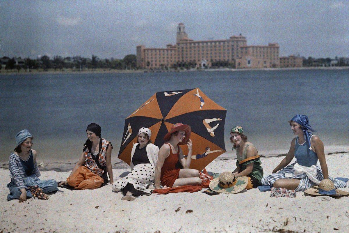 США в начале ХХ века - 50 цветных автохромных фотографий - 44
