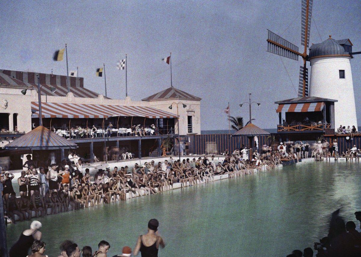 США в начале ХХ века - 50 цветных автохромных фотографий - 47