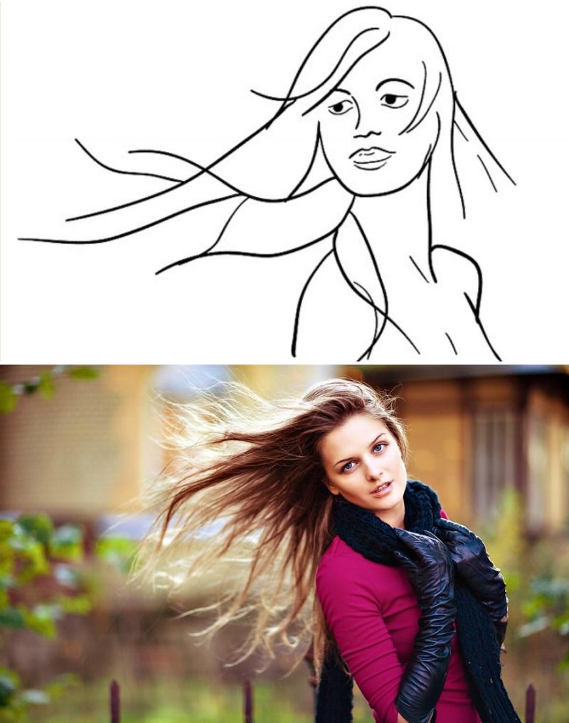 полных женщин правильно сфотографировать портрет нас