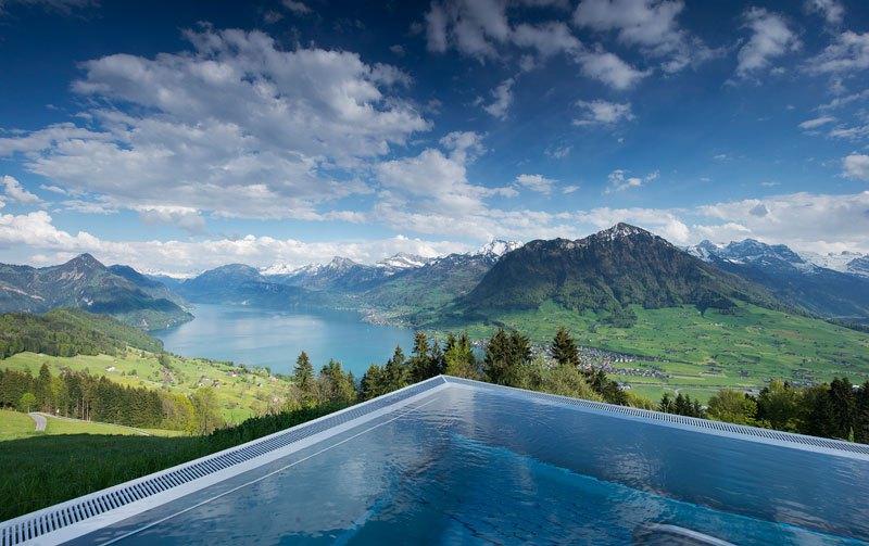 Otel v shveytsarskih Alpah 3