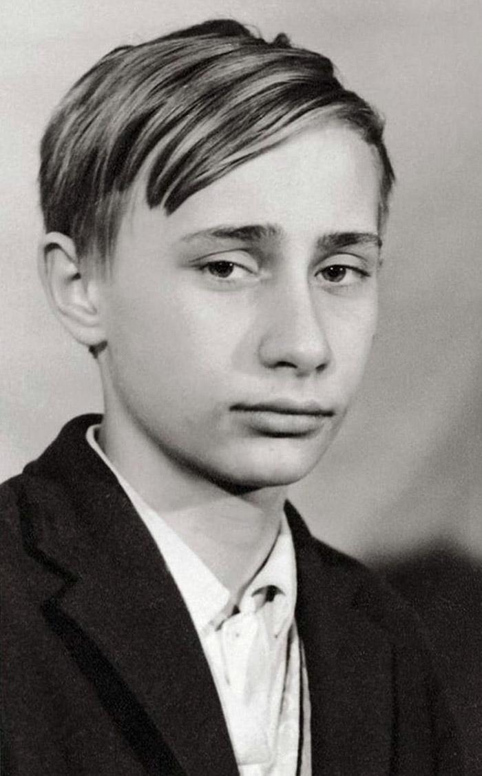 Портреты мировых лидеров в молодости 4